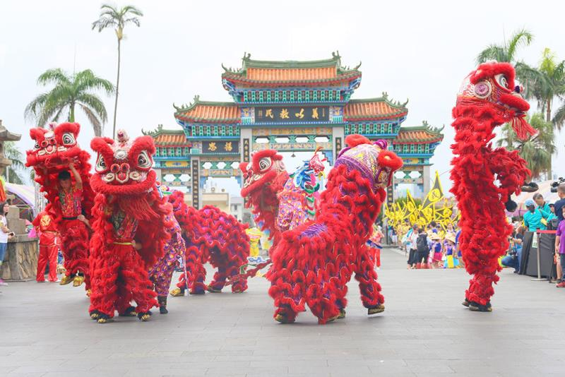 台湾飛鴻龍獅団