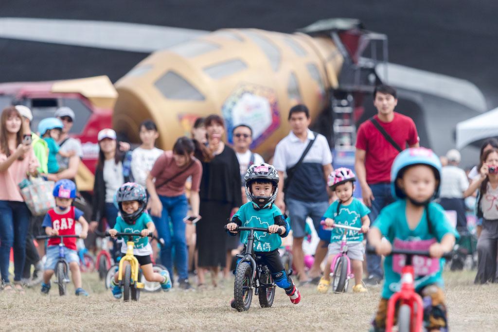 幼児ストライダーコンテスト  年度:2019  写真提供:日月潭国家風景区管理処