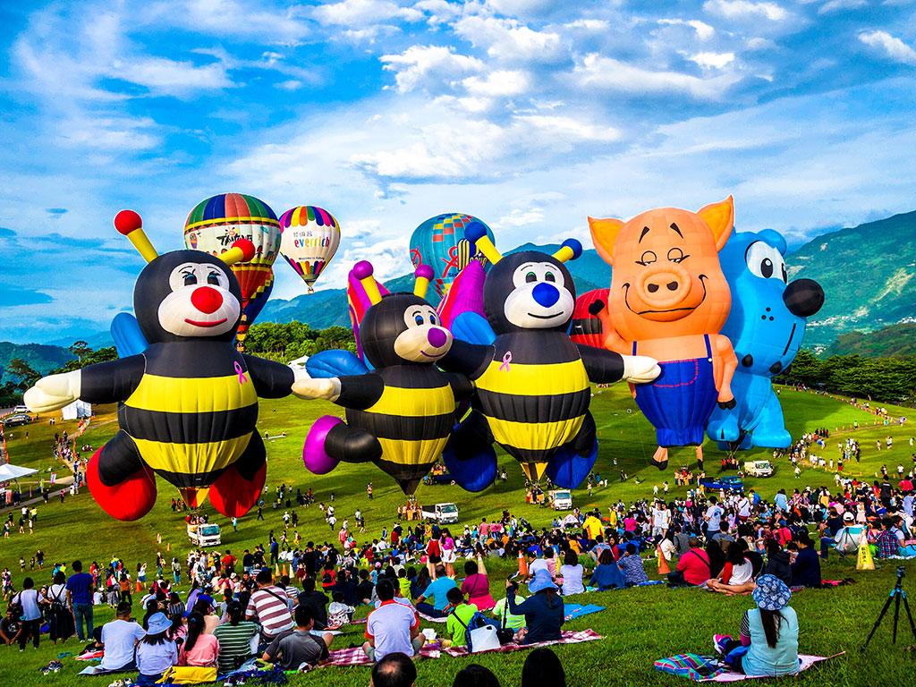 シェイプバルーン  年度:2019  写真提供:台東県政府