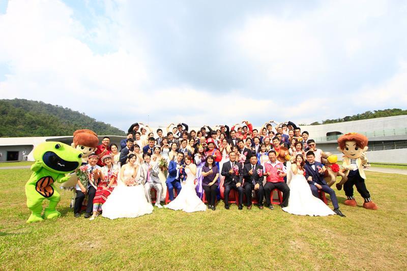 ⽇⽉潭結婚式  年度:2019  写真提供:日月潭国家風景区管理処