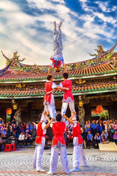 組体操  年度:2017  撮影者:利勝章  写真提供:台北保安宮